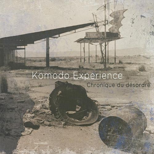 Deuxième album komodo experience Hardcore, trash punk