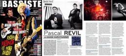 Nevraska bassiste magazine