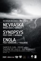 Redrum+Records+prsente+ENOLA++NEVRASKA++SYNOPSYS